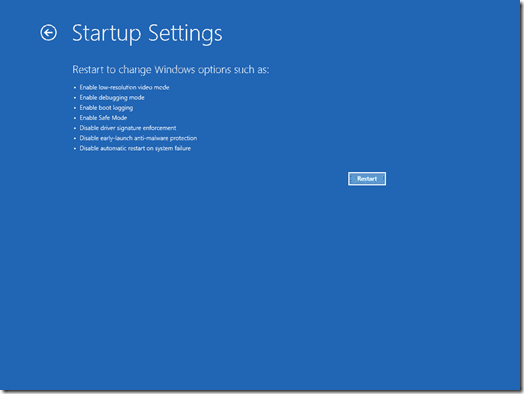 RestartStartupSettings