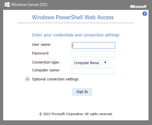 powershell-web-access-screen