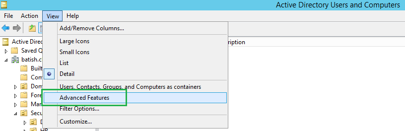 Creating custom attributes in active directory - Console active directory ...
