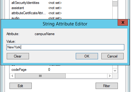 Attribute Editor