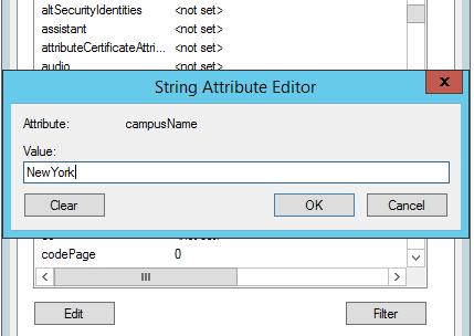 Attribute Editor