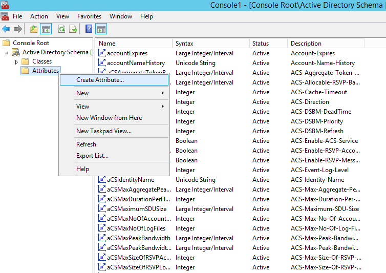 Step-by-Step Guide - Creating Custom Attributes In Active